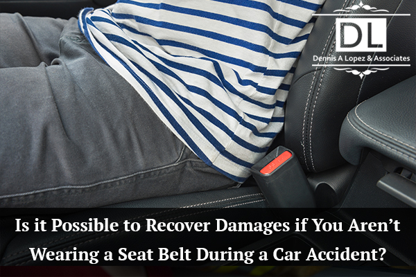 Is It Possible To Recover Damages If You Aren't Wearing A