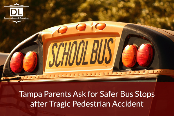 Tampa Parents Ask for Safer Bus Stops after Tragic Pedestrian Accident